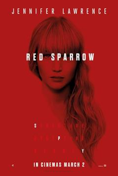 La locandina americana di Red Sparrow