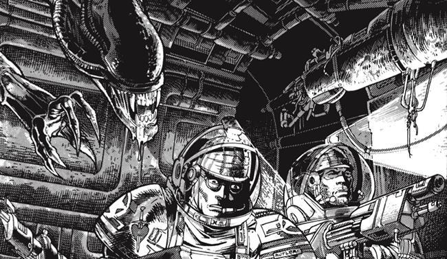 Cover originale della miniserie Aliens del 1988