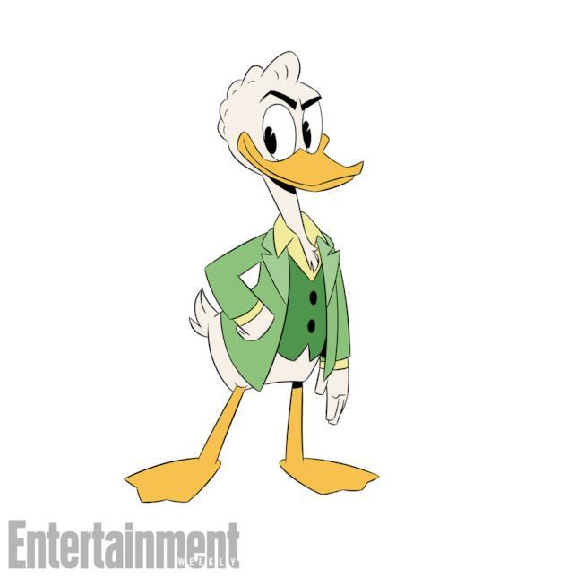 DuckTales e le nuove immagini di Gastone