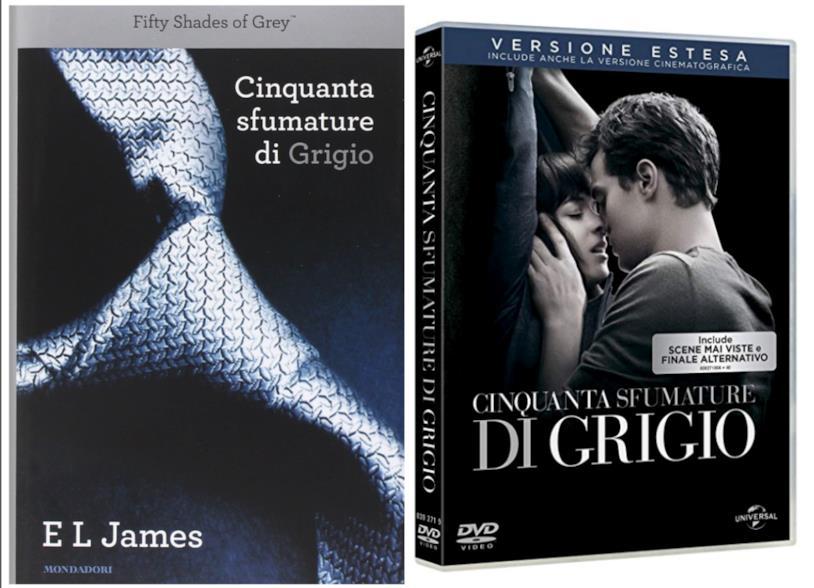 Cinquanta sfumature di grigio, libro e film
