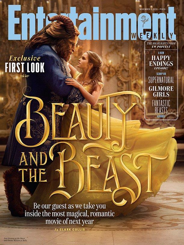 Entertainment Weekly mette in copertina La Bella e la Bestia
