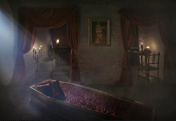 Castello di Bran cripta