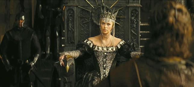Charlize Theron protagonista di Biancaneve e il Cacciatore