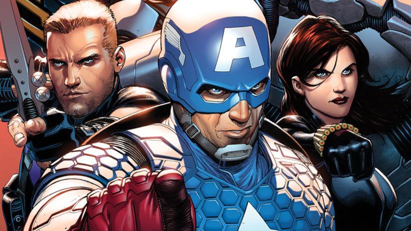 Alcuni degli Avengers in un artwork ufficiale di Marvel