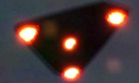 L'UFO avvistato in Belgio