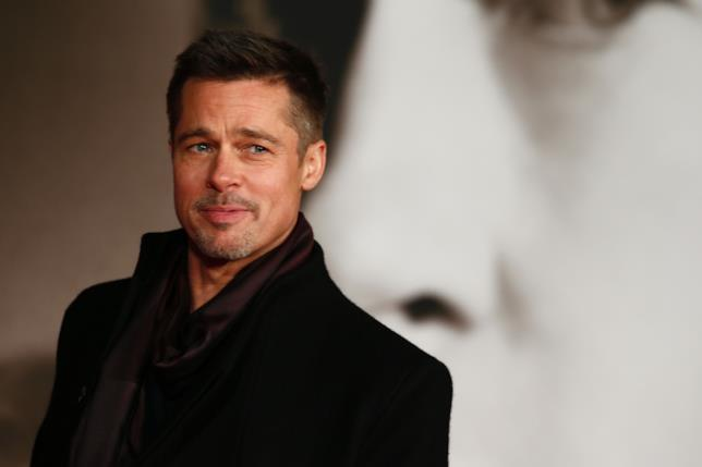 Una delle immagini più recenti di Brad Pitt in pubblico