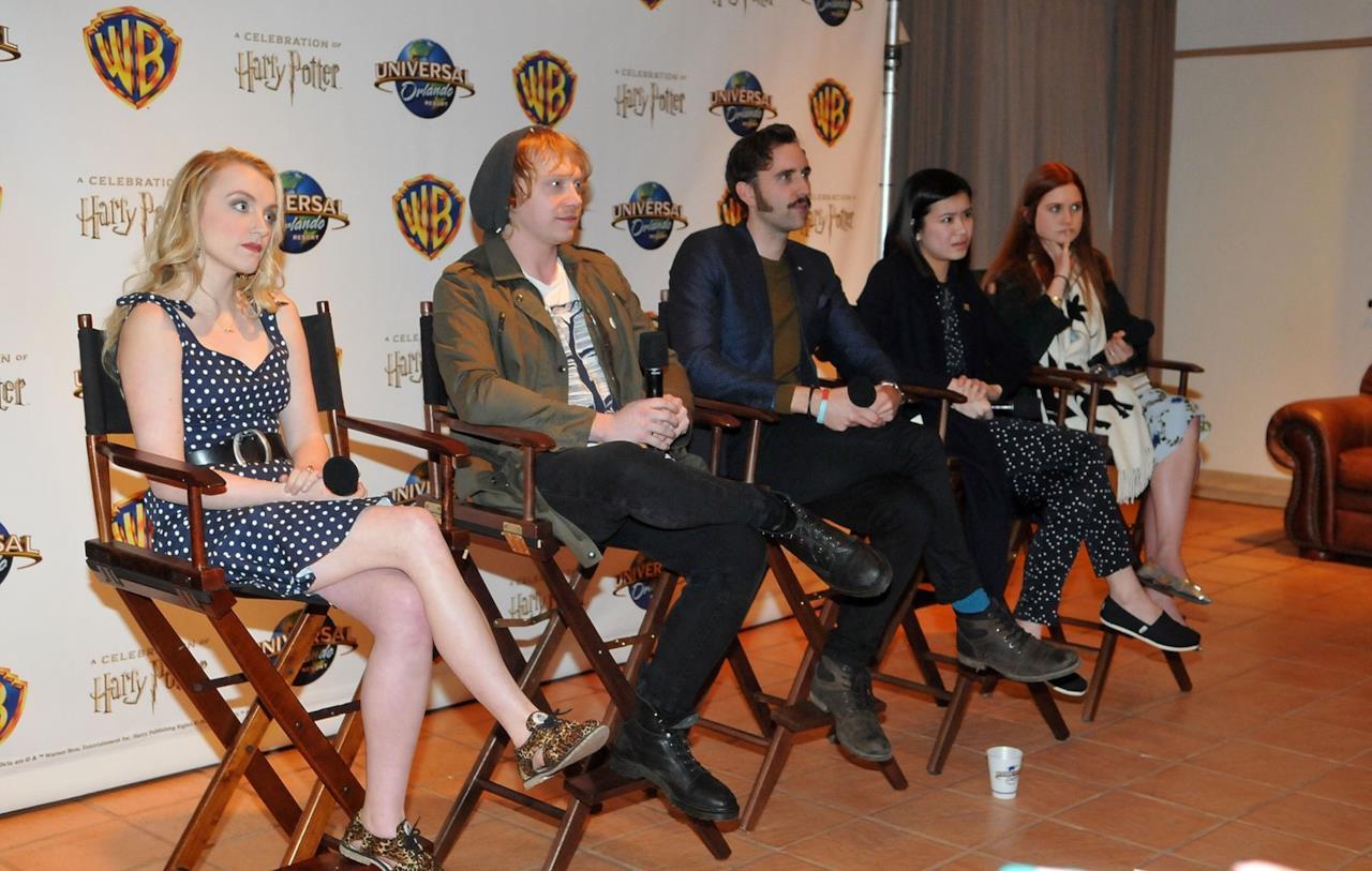 Rupert Grint alla celebrazione per Harry Potter ad Orlando