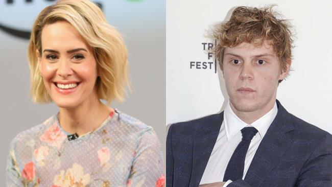 Sarah Paulson ed Evan Peters