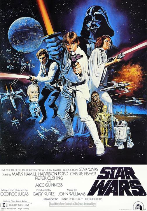 Indietro nel tempo, ecco la locandina del 1977 di Star Wars: Una Nuova Speranza