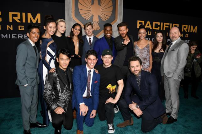 I componenti del cast di Pacific Rim 2 - La Rivolta
