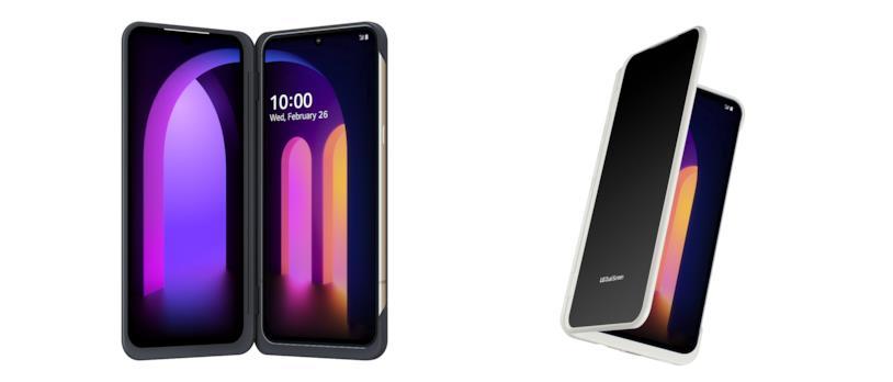 Immagine promozionale di LG V60 ThinQ 5G Dual-screen