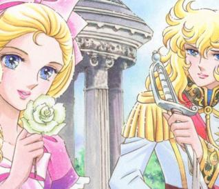 Maria Antonietta e Oscar nel manga Versailles no Bara