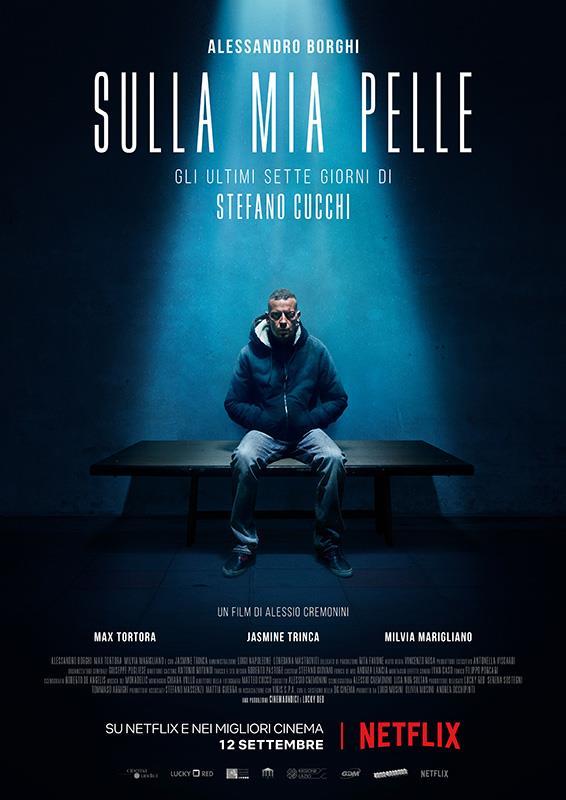 Alessandro Borghi è Stefano Cucchi nel poster ufficiale di Sulla mia pelle