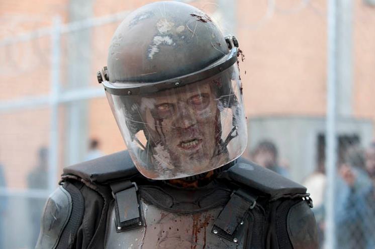 Gli S.W.A.T. interrompono le riprese di The Walking Dead
