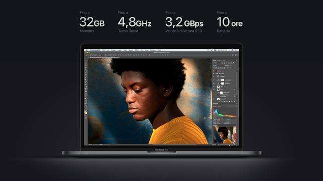 Dettagli sulle performance dei nuovi MacBook Pro con Touch bar da 13 e 15 pollici