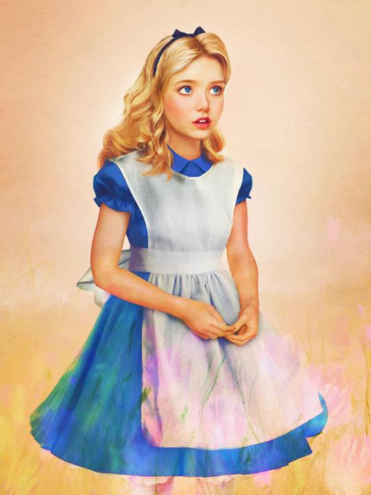 Dal cartoon Disney al mondo reale: Alice