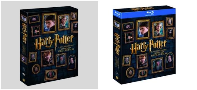 DVD e Blu-ray di Harry Potter