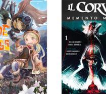 Cover di Made in Abyss e Corvo: Memento Mori