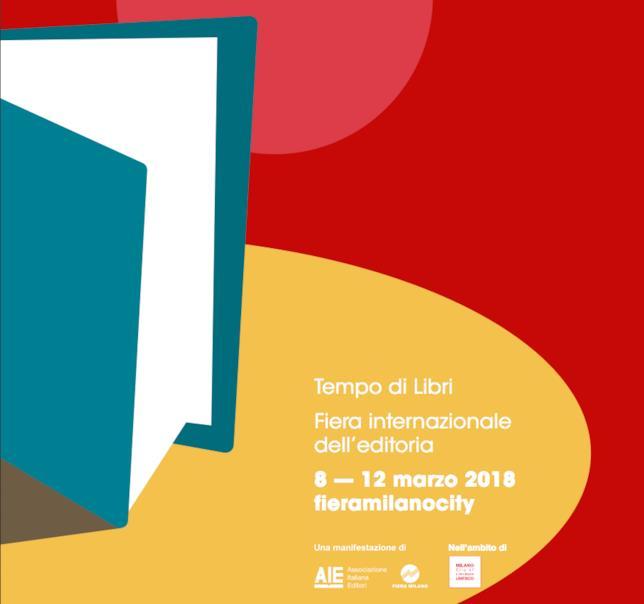 Logo e claim di Tempo di Libri 2018