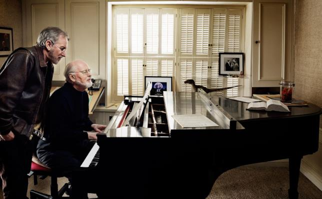 John Williams e Steven Spielberg in un'immagine di repertorio