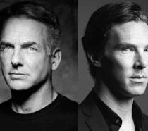 Gli attori Mark Harmon e Benedict Cumberbatch
