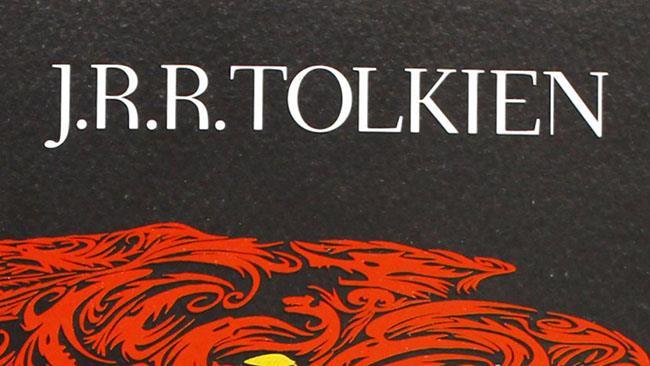 La scritta del nome di Tolkien