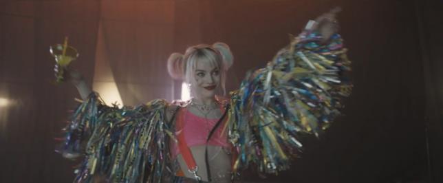 Harley Quinn in primo piano