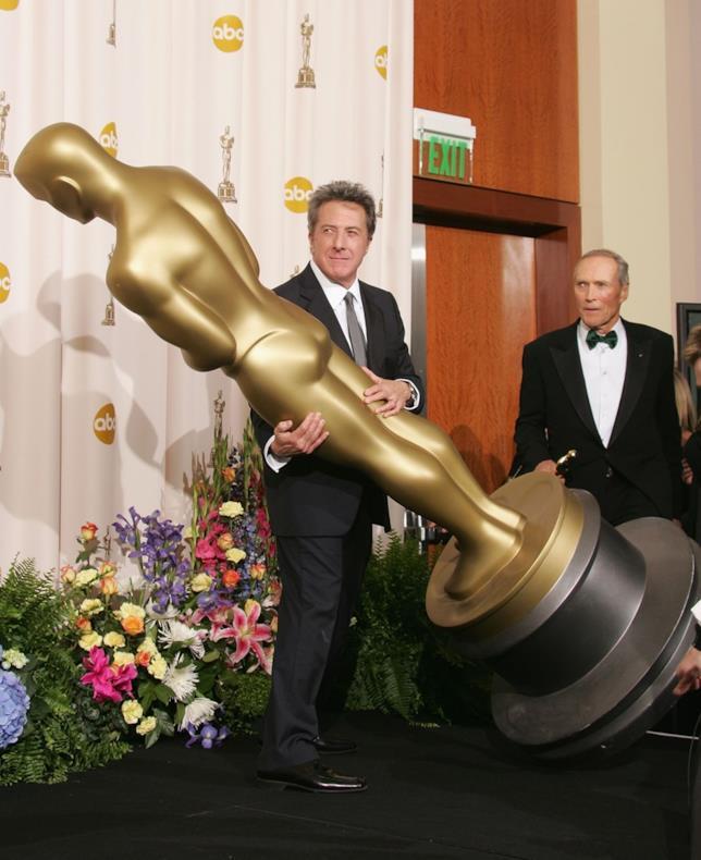 Dustin Hoffman agli Oscar nel 2005