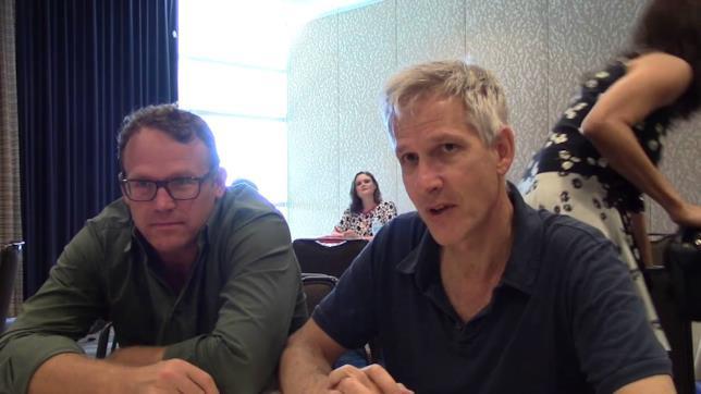 Jonathan Collier e Michael Peterson, produttori di Bones