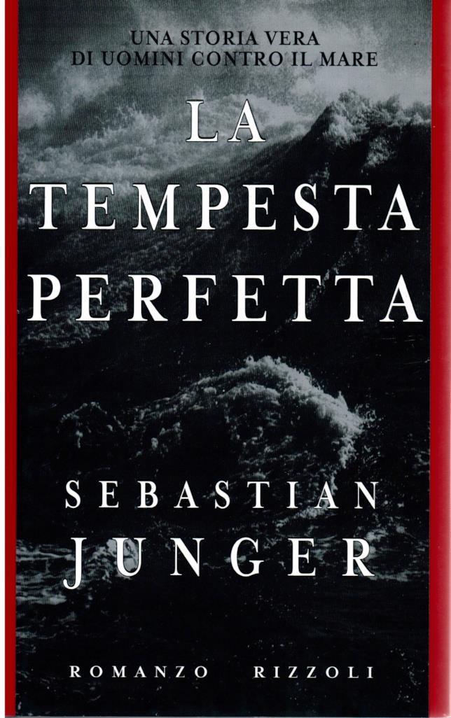 La copertina del romanzo La tempesta perfetta