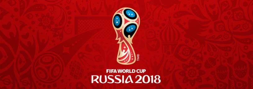 Il logo della FIFA World Cup 2018