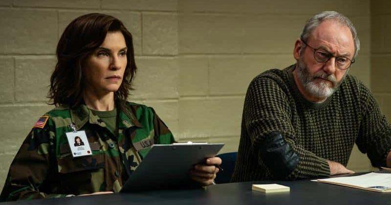 The Hot Zone - Area di contagio. Julianna Margulies e Liam Cunningham