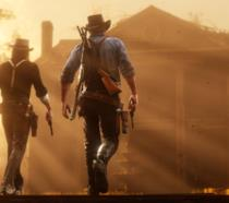 Pistoleri al tramonto in Red Dead Redemption 2