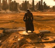 Cyborg in una scena di Batman v Superman