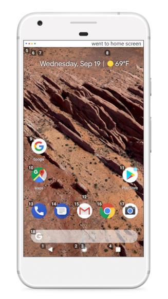 Voice Access attivo su Google Pixel 2