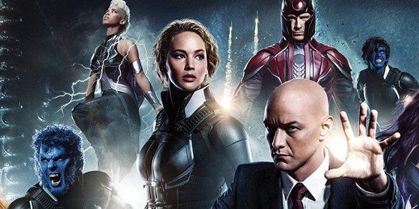 Parte del cast di X-Men nella locandina di Apocalypse
