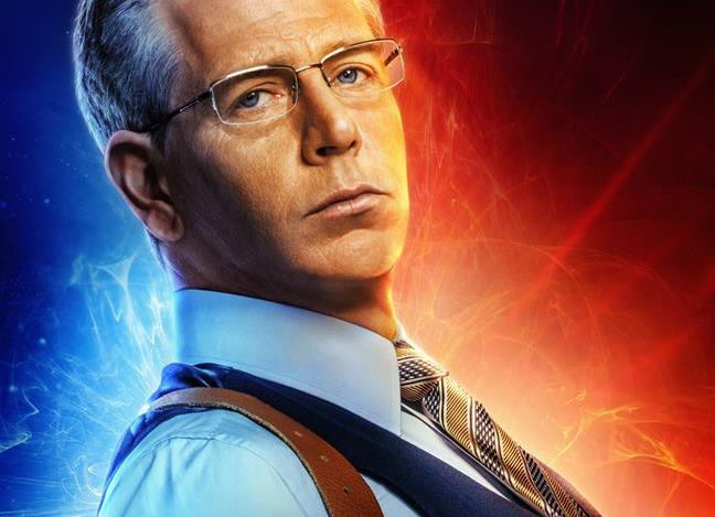 Ben Mendelsohn nel character poster dedicato a Talos di Captain Marvel