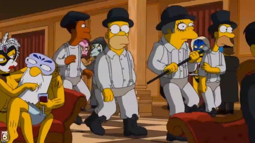 I Simpson e l'omaggio ai film di Kubrick