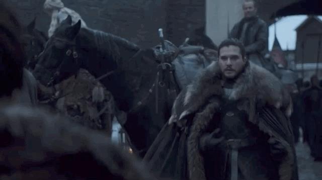 Bran e Jon in GoT 8
