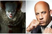 Un collage tra Pennywise e Vin Diesel