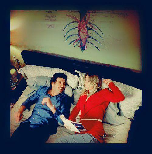 Meredith, Derek e il gigantesco tumore disegnato