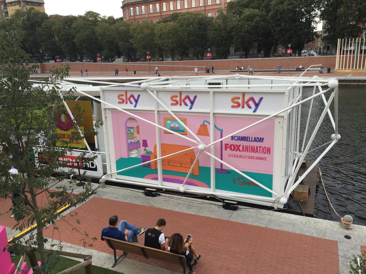 I Simpson a Milano per il Ciambella Day - le foto