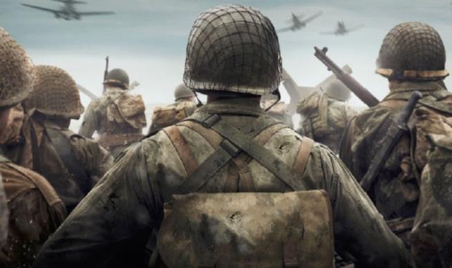 Soldati all'assalto in Call of Duty: WWII
