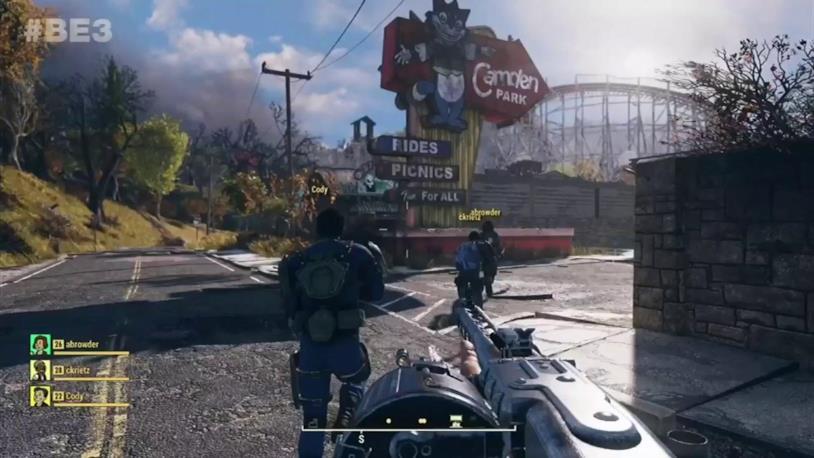 Un'immagine di gioco da Fallout 76