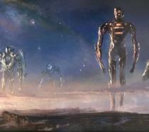 Il primo concept art del film Gli Eterni che mostra i Celestiali