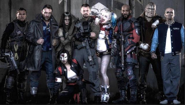 Il cast al completo di Suicide Squad