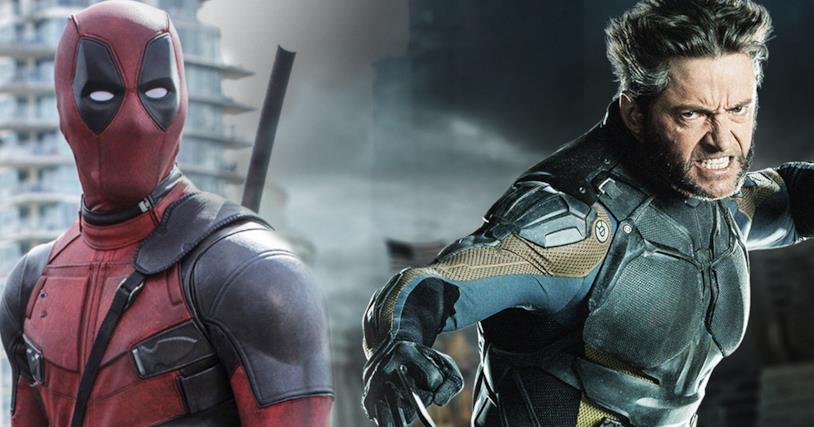 Un fotomontaggio in cui è possibile osservare Deadpool (a sinistra) e Wolverine (a destra)