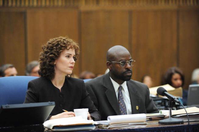 Sarah Paulson ne Il caso O.J. Simpson