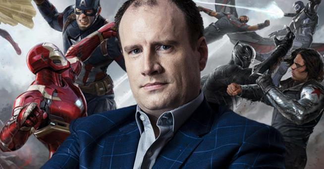In foto Kevin Feige, presidente dei Marvel Studios