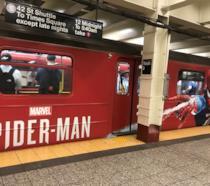 Il treno di Spider-Man a NYC